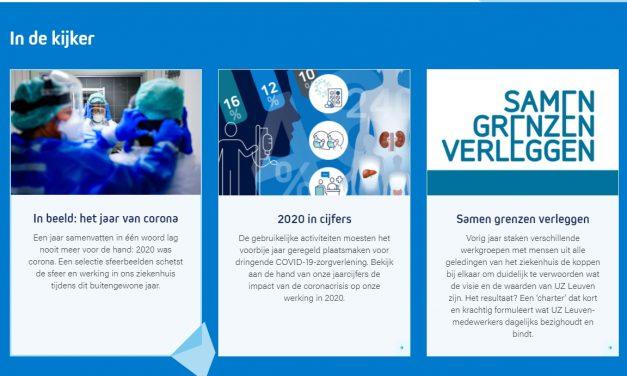 Jaarverslag UZ Leuven verschenen