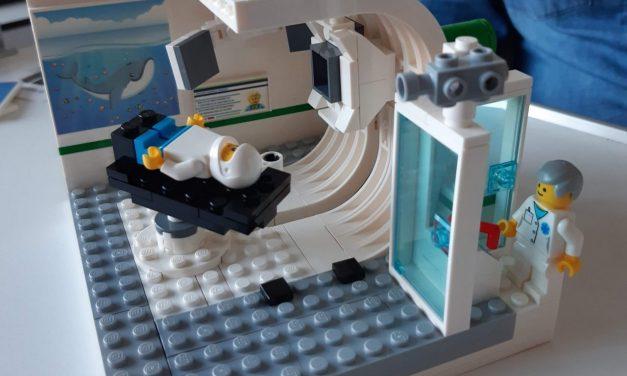 Legoblokjes maken kinderen vertrouwd met protontherapie