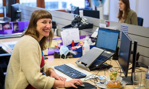 Nieuwe job: Tine Cattie