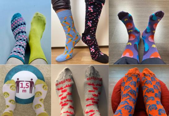 #SunnySocks4Docs: toon met kleurrijke sokken het belang van mentale gezondheid in de medische wereld